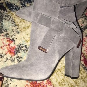 I am selling these Ted Baker booties!
